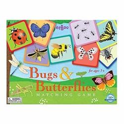 Bugs & Butterflies Matching Game