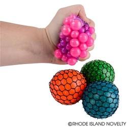 """3"""" Neon Mesh Squish Ball"""