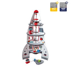 Four-Stage Rocket Ship