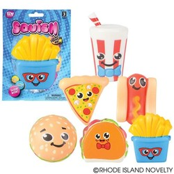 "3.75"" Squishy Fast Food Assorted Styles"