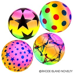"9"" Rainbow Balls Assorted Styles"