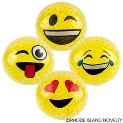 "2.25"" Squeeze Bead Emoticon Ball"