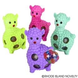 "3.5"" Squeeze Bead Alpaca Ball"