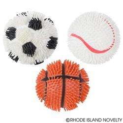"5"" Sports Puffer Balls Assorted Styles"