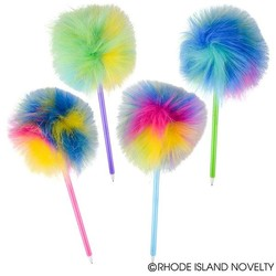 "10"" Jumbo Pom Pom Pen Assorted Styles"