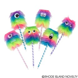 "10"" Rainbow Monster Pen Assorted Styles"