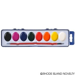 "8"" 8 Color Paint Set"