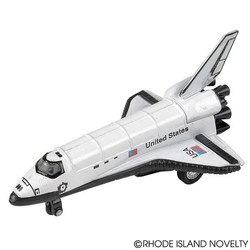 "5"" Diecast Pull Back Space Shuttle"