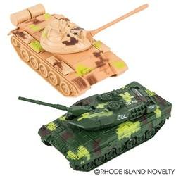 "5.5"" Light Up & Sound Diecast Tank"