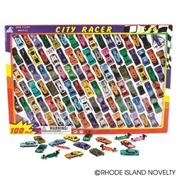 100 Piece Diecast Vehicle Assortment