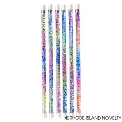 "18"" Glitter Sparkle Water Baton Assorted Colors"