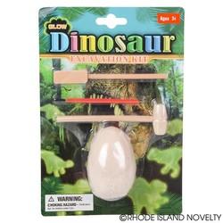 "4"" Glow in the Dark Dinosaur Dig Set"