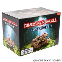 "6.5"" Dinosaur Skull Excavation Dig Kit T-Rex"