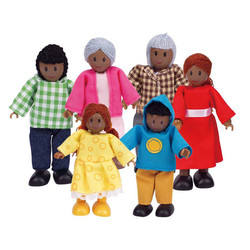 Happy Family - African American