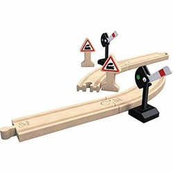 Wooden Train Track Mechanical Railway Signals