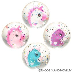 "1.75"" 45mm Unicorn Hi Bounce Ball Assorted Styles"