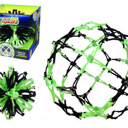 Mini Hoberman Sphere Firefly Glow