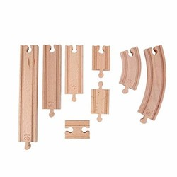 Wooden Train Track Expansion Pack