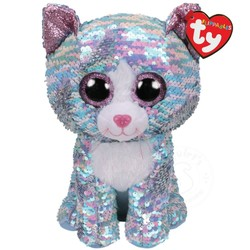 """Beanie Boos - Flippables - Whimsy Cat - Small 6"""""""