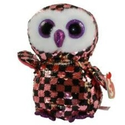 Beanie Boos - Flippables - Checks Owl - Medium 13""