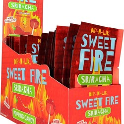 Sweet Fire Sriracha Popping Candy & Lollipop