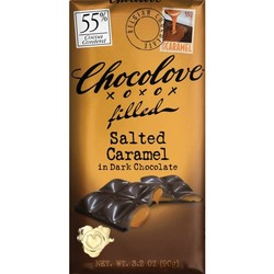 Salted Caramel in Dark Chocolate 3.2 oz Bar