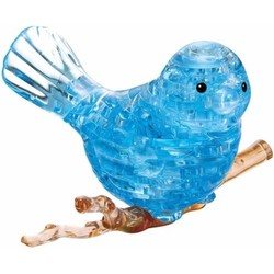 3D Crystal Puzzle - Blue Bird