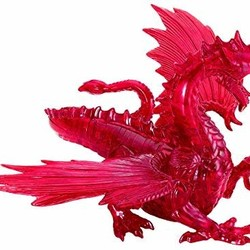 3D Crystal Puzzle Deluxe - Red Dragon