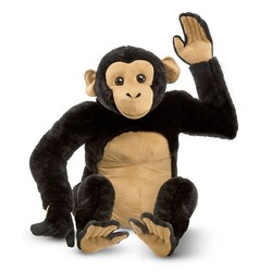 Chimpanzee - Lifelike Animal Giant Plush