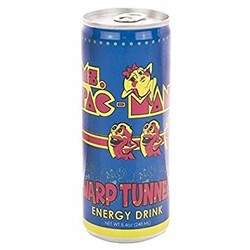 Ms. PAC-MAN Warp Tunnel Energy Drink - 12 oz.
