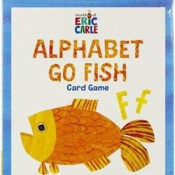 Eric Carle Alphabet Go Fish Card Game