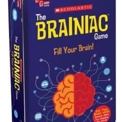 Scholastic The Brainiac Game Tin