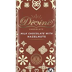 3.5 oz. Milk Chocolate with Hazelnuts Bar