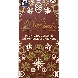 3.5 oz. Milk Chocolate with Whole Almonds Bar