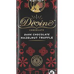 3.5 oz. Dark Chocolate with Hazelnut Truffle Bar