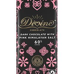 3.5 oz. Dark Chocolate with Pink Himalayan Salt Bar