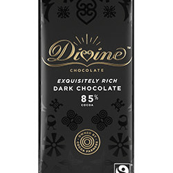 3.5 oz. 85% Dark Chocolate Bar