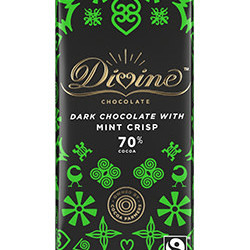 3.5 oz. 70% Mint Dark Chocolate Bar