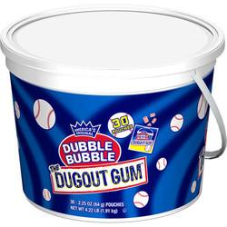 Dubble Bubble Dugout Gum Tub - Single