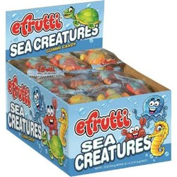 E Frutti Gummi Sea Creatures - 60 Piece Box