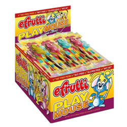 E Frutti Gummi Playmouse - 40 Piece Box