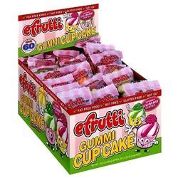 E Frutti Gummi Cupcake - 60 Piece Box