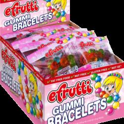 E Frutti Gummi Bracelet - 40 Piece Box