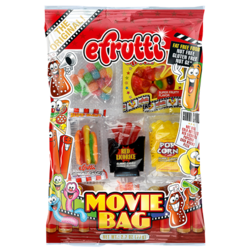 E Frutti Gummi Movie Bag 2.7 oz