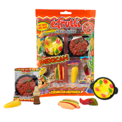 E Frutti Gummi Mexican Dinner 2.7 oz Bag
