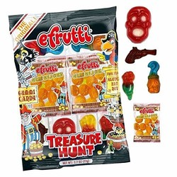 E Frutti Gummi Treasure Hunt 2.7 oz Bag