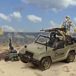 U.S. Army Patrol Playset