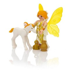 Special Plus - Sun Fairy With Unicorn Foal
