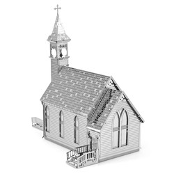Metal Earth - Architecture - Old Country Church