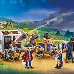 Playmobil The Movie - Charlie with Prison Wagon